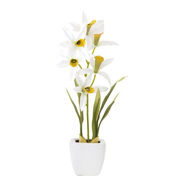 Planta-Artificial-Orquidea-Surt-18Cm-Plastico-Blanco-Varios-