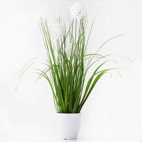 Planta-Artificial-Grass-Surt-36Cm-Plastico-Blanco-----------