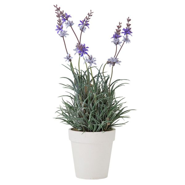 Planta-Artificial-Lavanda-Surt-25-30Cm-Cemento-Blanco-Lila--