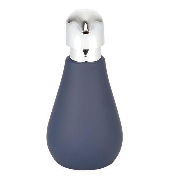 Dispensador-Jabon-Sydney-12.5-12.5-17Cm-Ceramica-Azul-Mate--