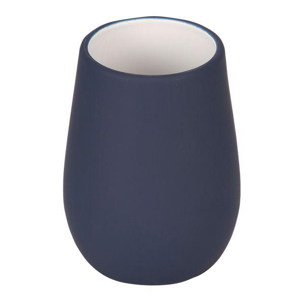 Vaso-Baño-Sydney-9-9-10.5Cm-Ceramica-Azul-Mate--------------
