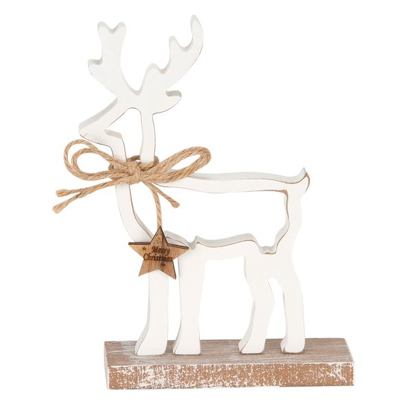 Navidad-C18-Reno-Rustic-18-12Cm-Madera-Blanco---------------
