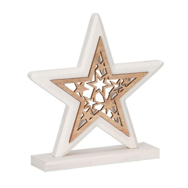 Navidad-C18-Estrella-Doble-18-18Cm-Madera-Blanco------------