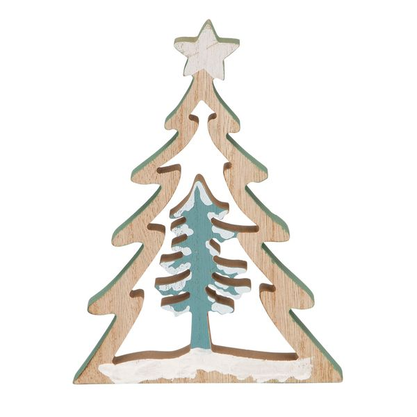 Navidad-C18-Arbol-Decorativo-Snow-15-20Cm-Madera------------