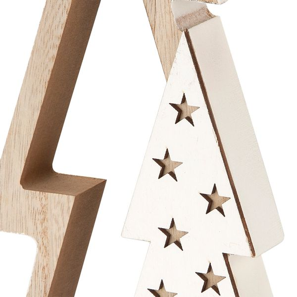 Navidad-C18-Arbol-Decorativo-Symbol-13-32Cm-Madera-Nat-Blanc