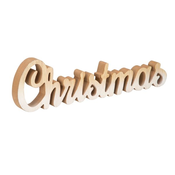 Navidad-C18-Letreto-Christmas-40-11Cm-Madera-Nat-Blanco-----