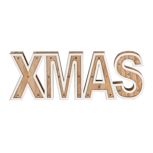 Navidad-C18-Letrero-C-Luces-Xmas-40-14Cm-Madera-Nat-Blanco--