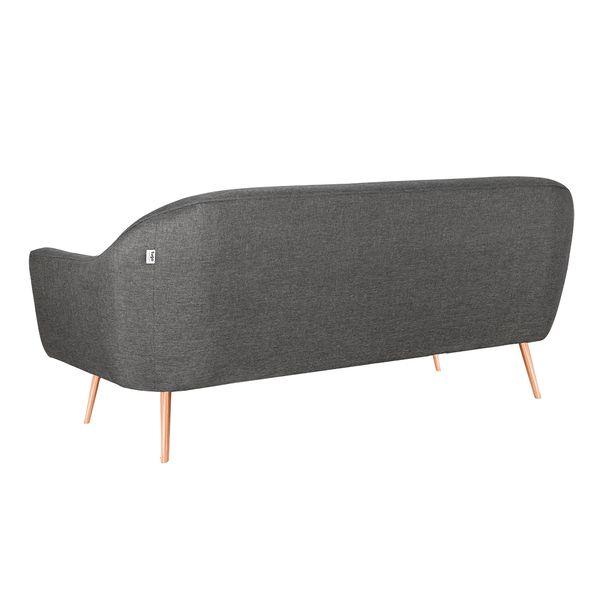 Sofa-3-Puestos-Colors-Tela-Gris-Osc-Bot-Colores-Patas-Cobre-