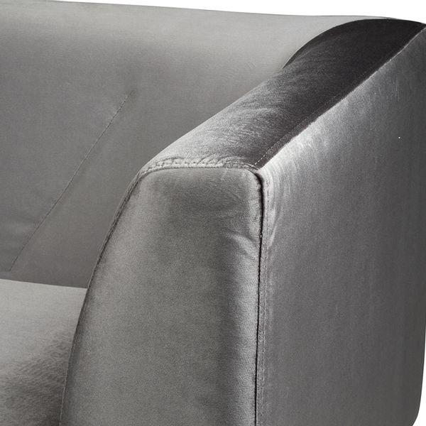 Sofa-2-Puestos-Victoria-Terciopelo-Gris---------------------
