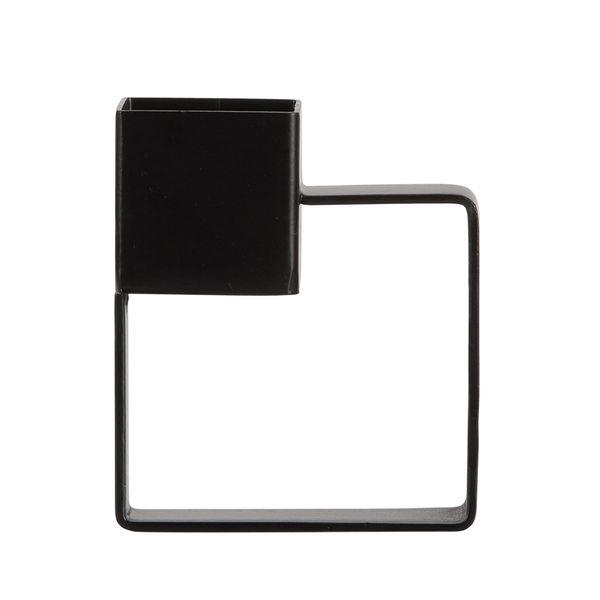 P-Vela-Minimal-4-8-9.5Cm-Metal-Negro------------------------