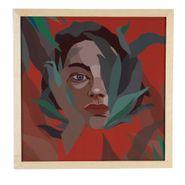 Cuadro-Artistico-Mujer-Natura-Ii-40-40Cm-Vidrio-Madera-Nat--