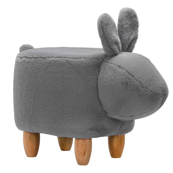 Puff-Zoo-Conejo-35-36-63-Gris-------------------------------