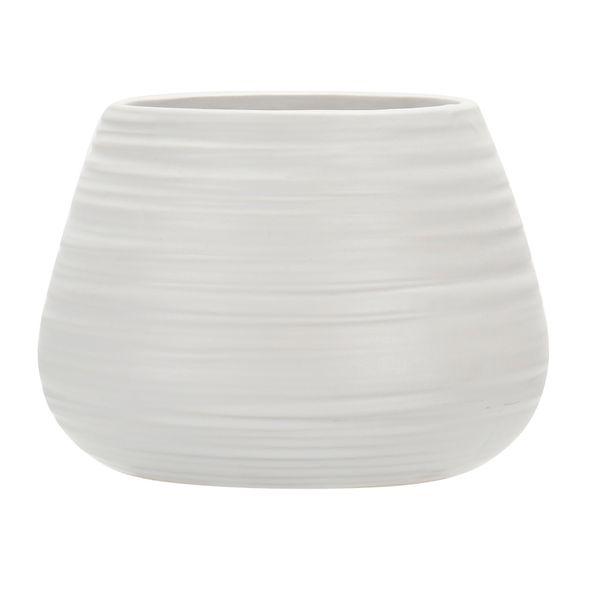 Florero-C19-Romina-16-16-11Cm-Porcelana-Blanco--------------