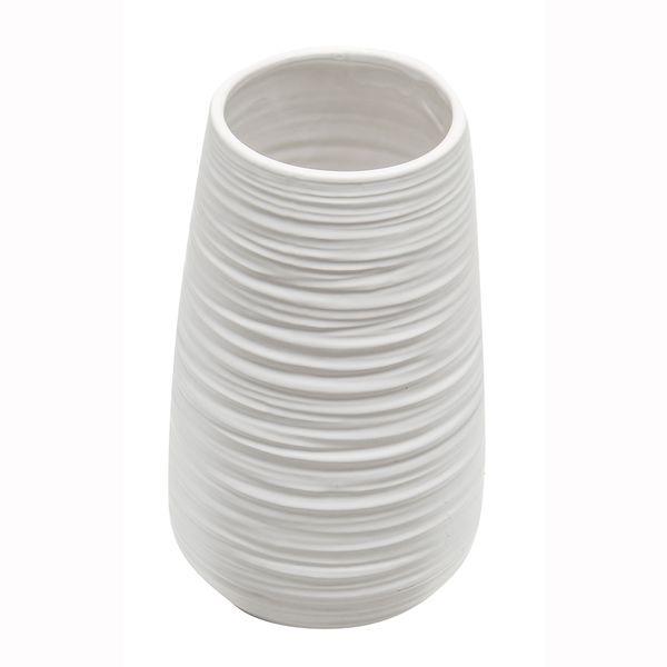 Florero-C19-Romina-13-13-23Cm-Porcelana-Blanco--------------