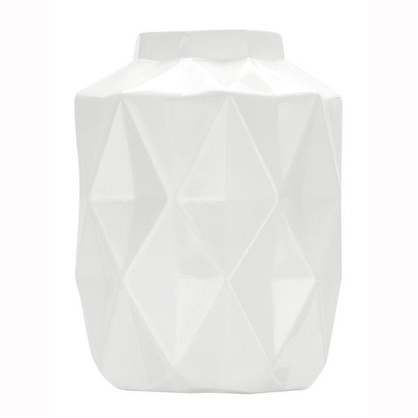 Florero-C19-Geometrico-14-14-18Cm-Ceramica-Blanco-----------