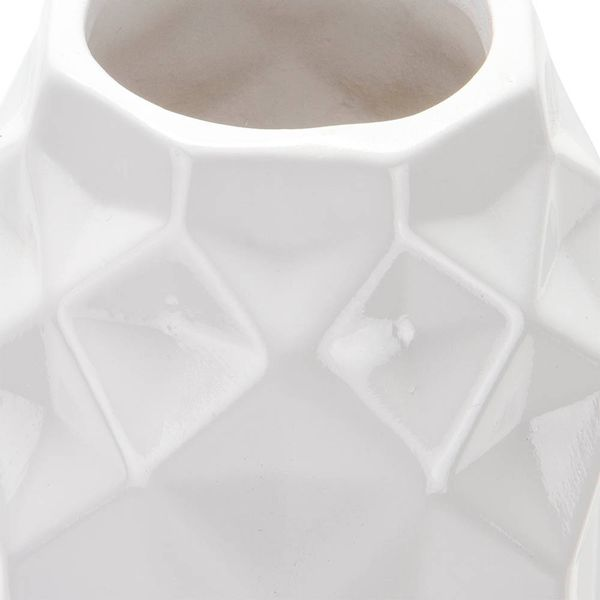 Florero-C19-Geometrico-11-11-28Cm-Ceramica-Blanco-----------