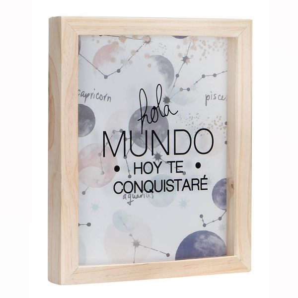 Cuadro-Caja-Mundo-22-27Cm-Madera-Vidrio-Nat-----------------