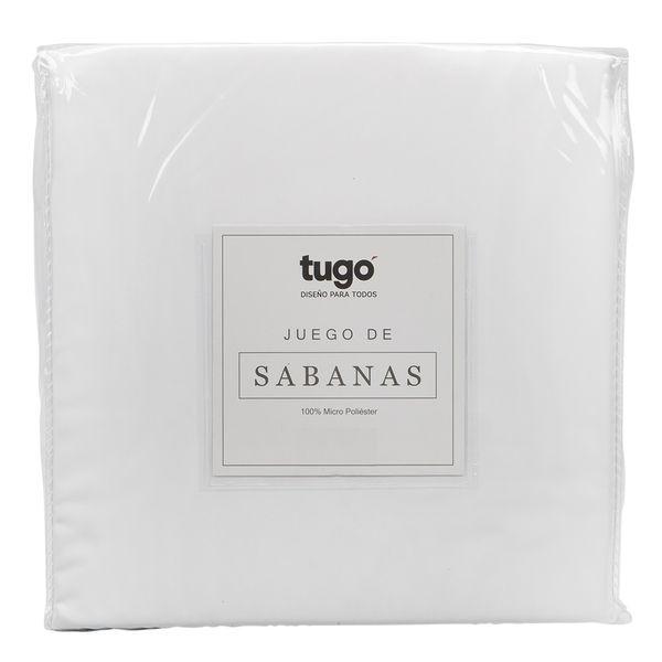 Juego-De-Sabanas-Twin-100Gr-100--Microfibra-Blanco