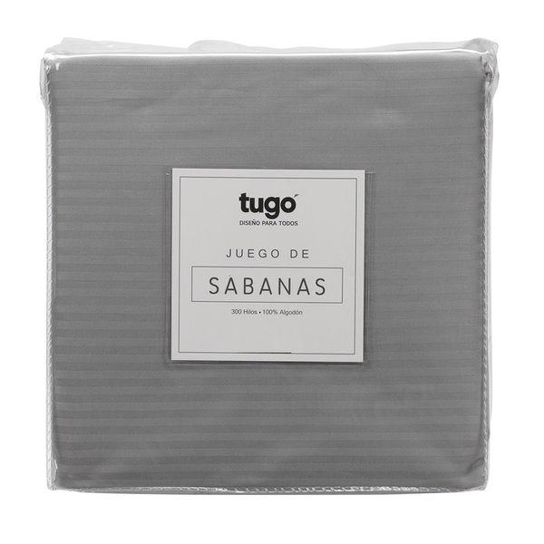 Juego-De-Sabanas-Doble-Stripe-300Hl-100--Algodon-Gris