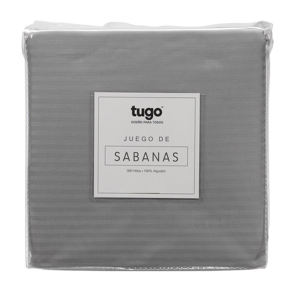 Juego-De-Sabanas-Queen-Stripe-300Hl-100--Algodon-Gris