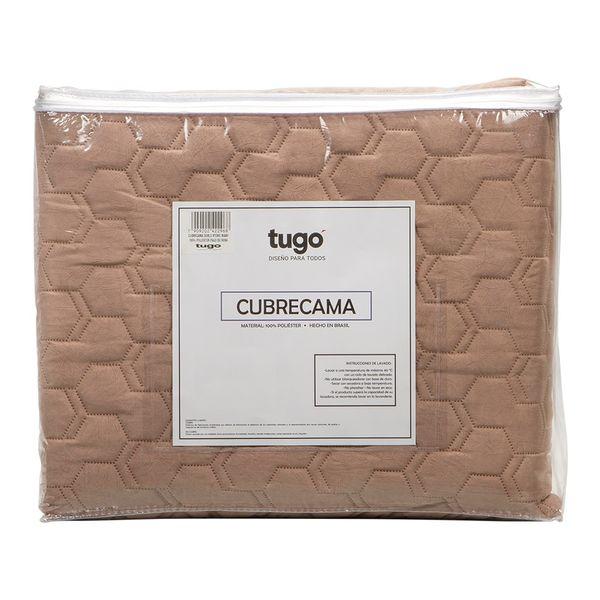 Cubrecama-Sencillo-Stone-Wash-100--Poliester-Palo-De-Rosa---
