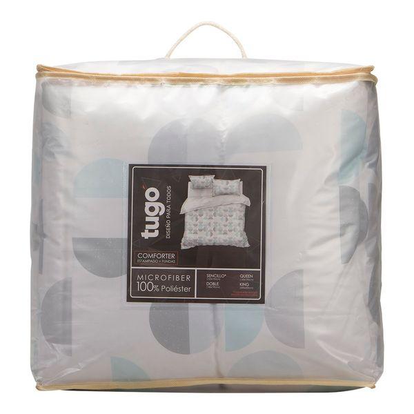 Edredon-Sencillo-Circulos-Medios-100-Poliester-Blanco-Pastel