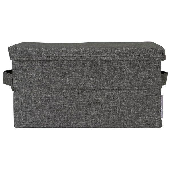 Caja-Organizadora-S-C-Tapa-Soft-26-35-19Cm-Poliester-Gris---