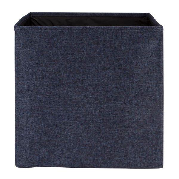 Caja-Organizadora-Cuadrada-31.5-31.5-31.5Cm-Tela-Azul-------