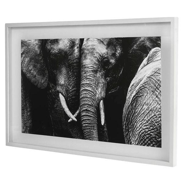 Cuadro-Elefantes-Massai-Mara-93-63Cm-Canvas-Vidrio-Gris-----