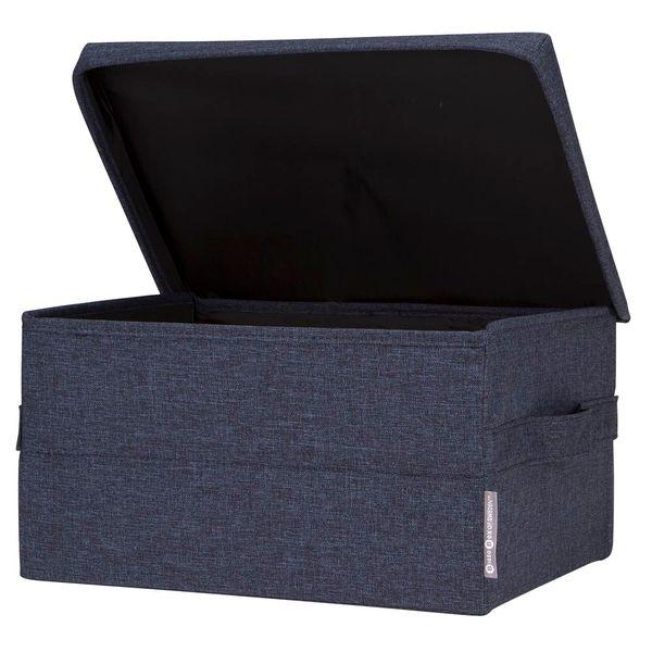 Caja-Organizadora-C-Tapa-Rectangular-26-35-19Cm-Tela-Azul---