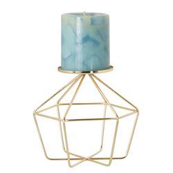 P-Vela-C18-Hexagonal-Wire-16.5-16.5-16Cm-Metal-Dorado-------