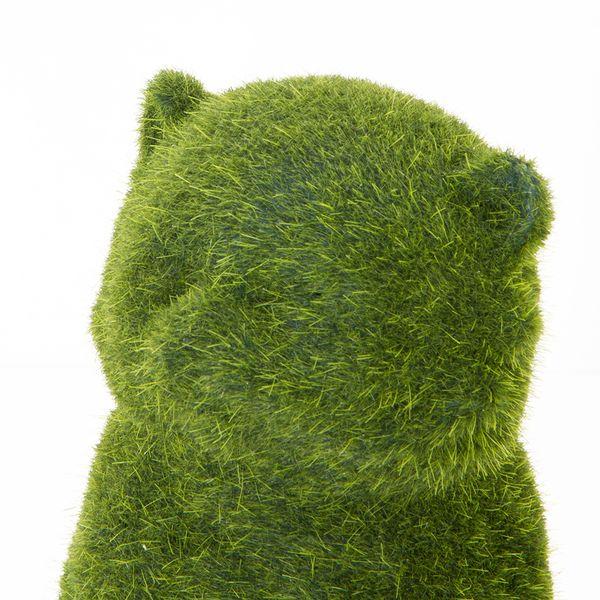 Fox-Mini-Pasto-Artificial-10-12-14Cm-Poliresina-Verde-------