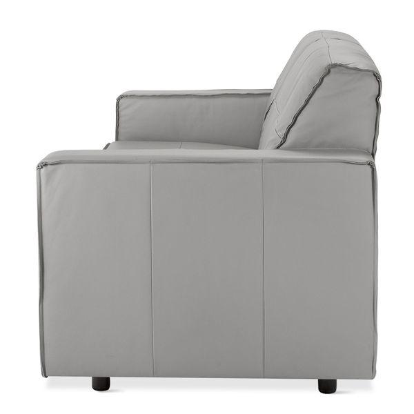 Sofa--Avan-3-Puestos-Cuero-Gris-Claro-----------------------