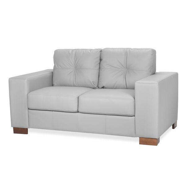 Sofa-Domini-2-Puestos-Cuero-Gris-Claro----------------------