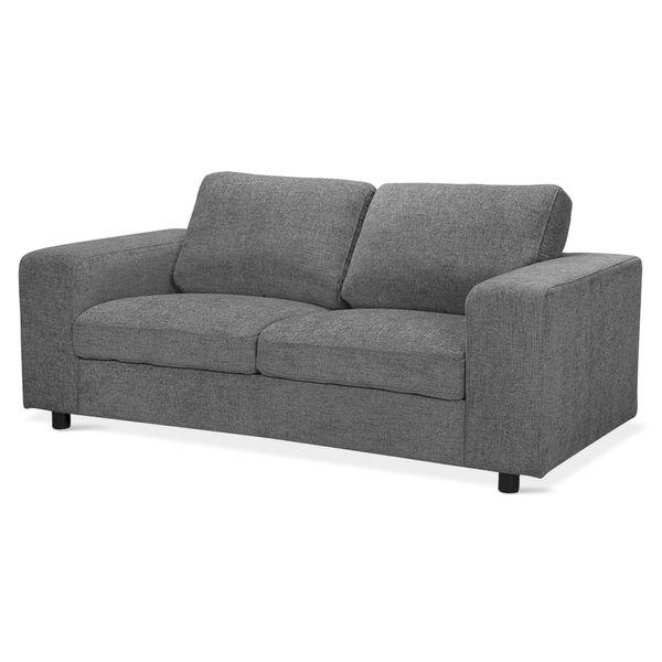 Sofa-2-Puestos-Nauty-Tela-Galaxy-Gris-Negro-----------------