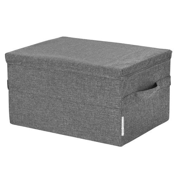 Caja-Organizadora-M-C-Tapa-Soft-30-40-22Cm-Poliester-Gris---