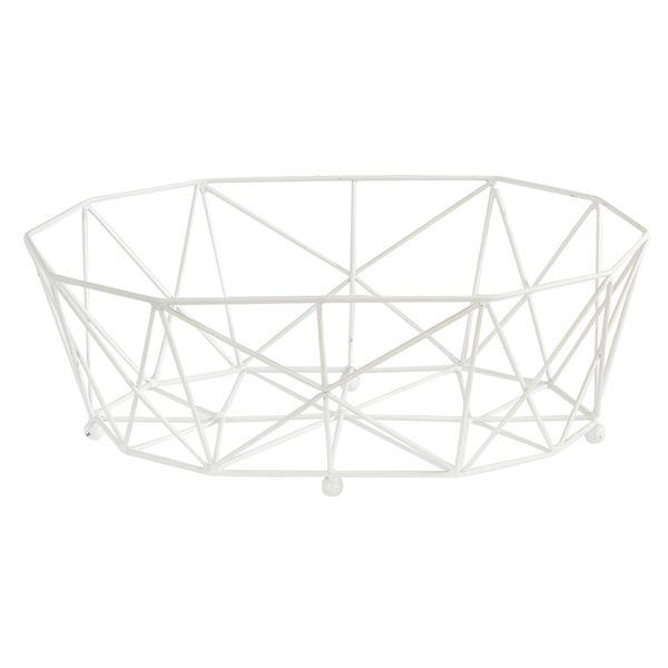 Canasta-Organizadora--Diamante-29-19-9Cm-Metal-Blanco-------