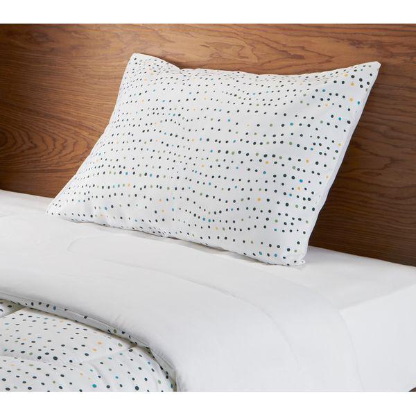 Edredon-Sencillo-Puntos-100-Poliester-Blanco-Colores--------