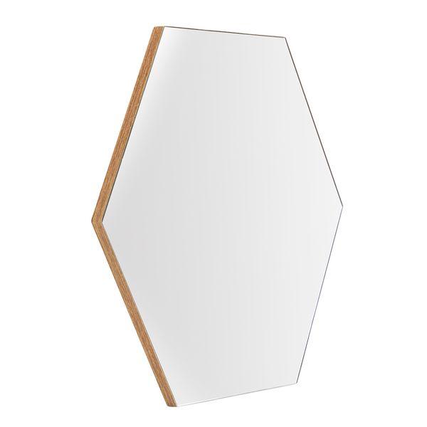 Espejo-Hexagonal-Simona-50-40Cm-Mdf-Miel--------------------