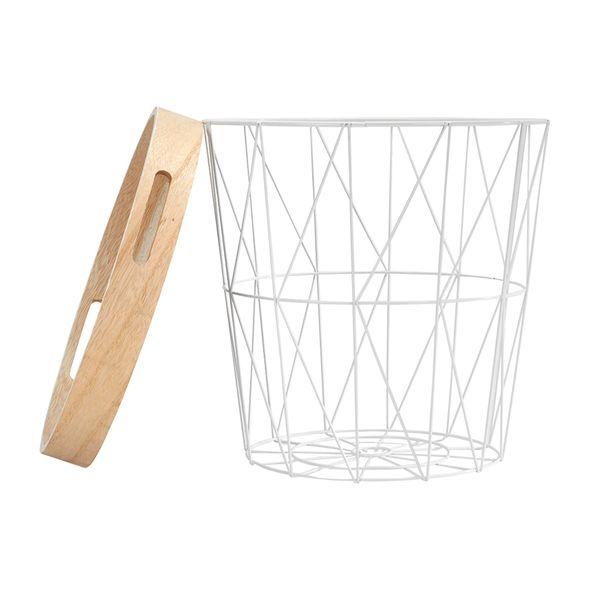 Canasta-C-Tapa-Geometrica-Mandala-35-35-38Cm-Metal--Blanca--