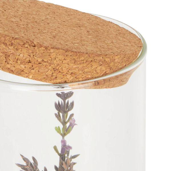 Planta-Artificial-Pot-Lavanda-26Cm-Vidrio-Madera------------