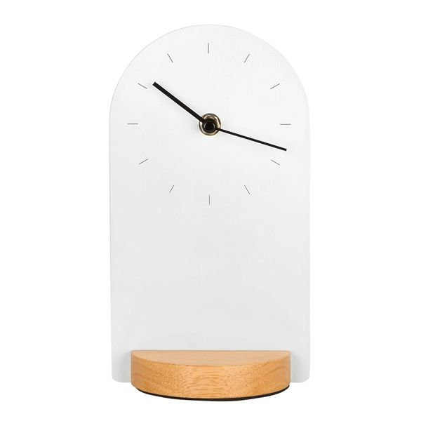 Reloj-De-Escritorio-Sometime-12-9.5-21.6Cm-Mad-Blco-Natural-