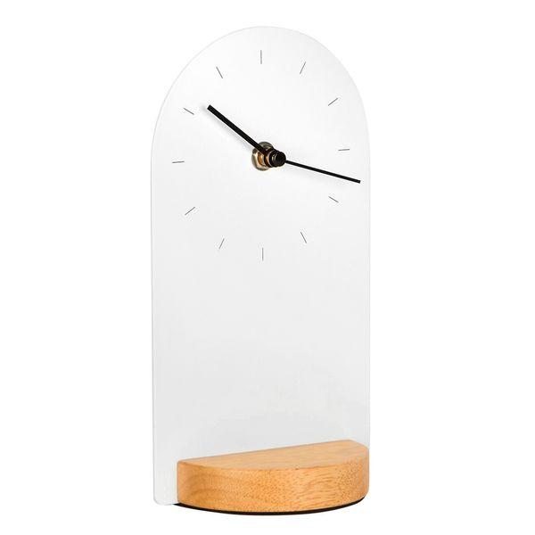 Reloj-De-Escritorio-Sometime-12-9.5-21.6Cm-Mad-Blco-Natural-