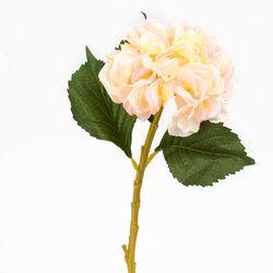 Flor-Artificial-Hortensia-3-Hojas-44Cm-Tela-Rosa------------