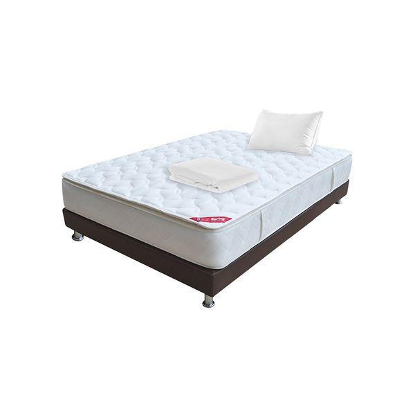 Combo-Colchon-Pillow-Top-100-190-Basecama-Almohada-Protector