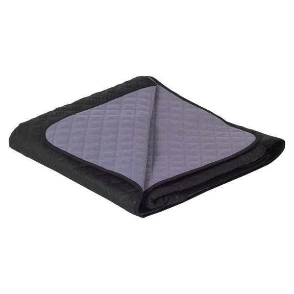 Protector-De-Sofa-2-Puestos-120Cm-180Cm-Poliester-Gris-Negro
