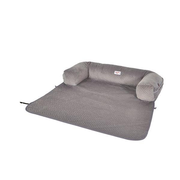 Cama-Sofa-Mascotas-70-12-40Cm-Poliester-Gris----------------
