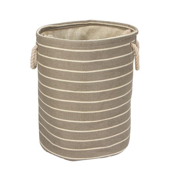 Bolsa-Cilindrica-Luca-33-33-41Cm-Tela-Plastico-Gris---------