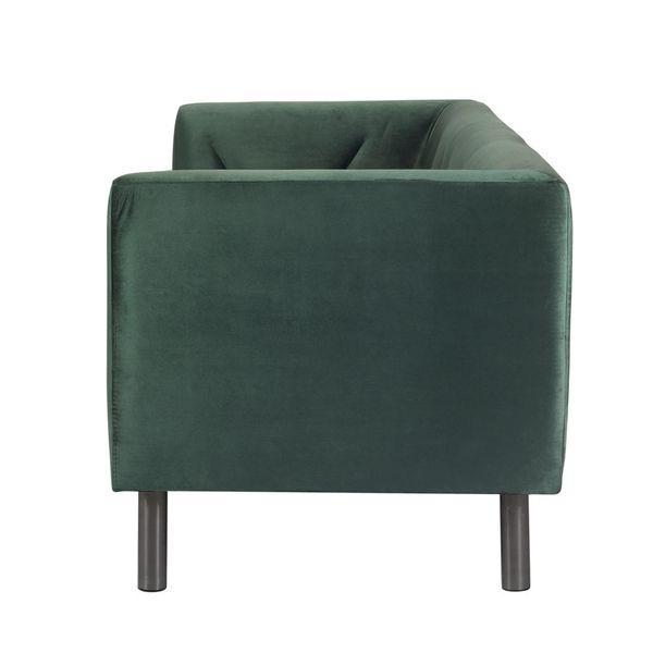 Sofa-3-Puestos-Victoria-Terciopelo-Verde-Patas-Nogal