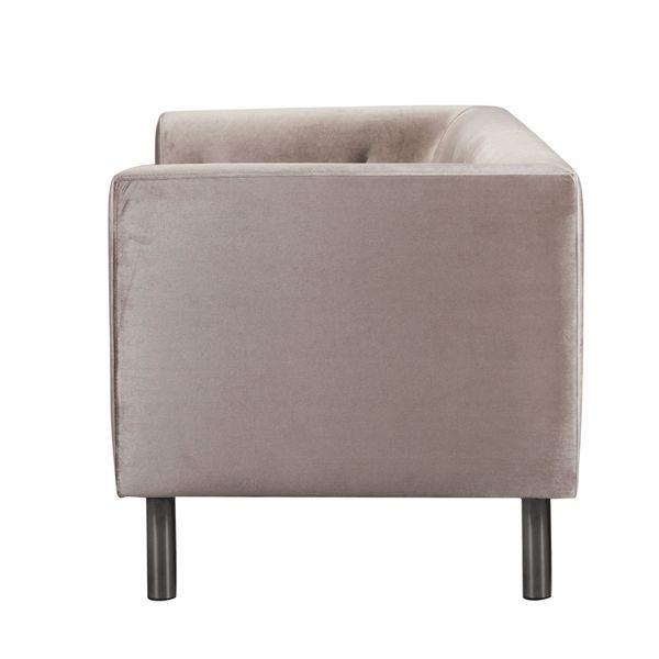 Sofa-2-Puestos-Victoria-Terciopelo-Taupe-Patas-Nogal